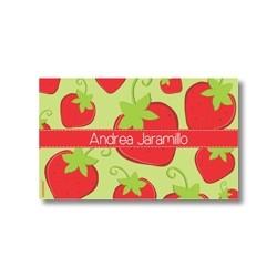 p4510 - Tarjetas de presentación - Fresas