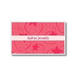 p4509 - Tarjetas de presentación - Fresas