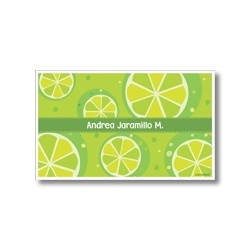 Label cards - lemon
