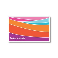 p4805 - Tarjetas de presentación - Rayas