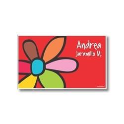 p4608 - Tarjetas de presentación - Flores