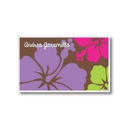 p6509 - Tarjetas de presentación - Flores