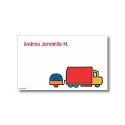 p2905 - Tarjetas de presentación - Carros