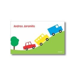 p5702 - Tarjetas de presentación - Carros