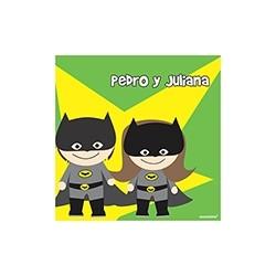 p9101 - Tarjetas de presentación - Super heroes