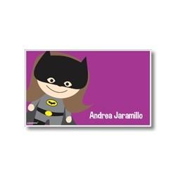 p9010 - Tarjetas de presentación - Super heroes