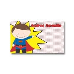 p9006 - Tarjetas de presentación - Super heroes