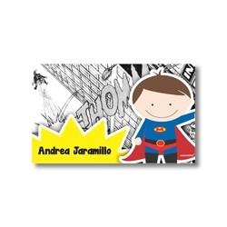 p9004 - Tarjetas de presentación - Super heroes