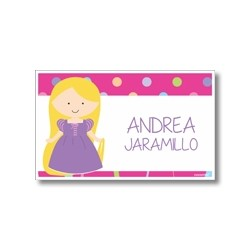 Label cards - Rapunzel