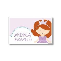 Label cards - Sofia the first