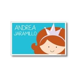 p8802 - Tarjetas de presentación - Princesa Sofia