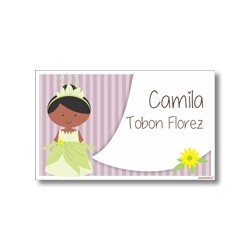 Label cards - Tiana