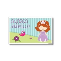 p8708 - Tarjetas de presentación - Princesa Sofia