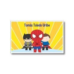 p8705 - Tarjetas de presentación - Superheroes