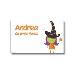 Label cards - halloween