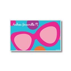 p7504 azul - Tarjetas de presentación - Gafas