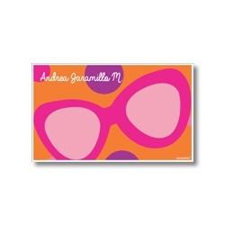 p7504 naranja - Tarjetas de presentación - Gafas