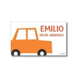 Tarjetas de presentación - Carros