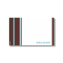 p5305 azul - Tarjetas de presentación - Rayas