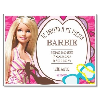Tarjetas Cumpleaños Barbie