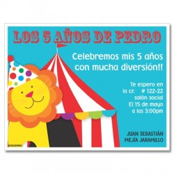 c0367- Birthday invitations - Pajama Party