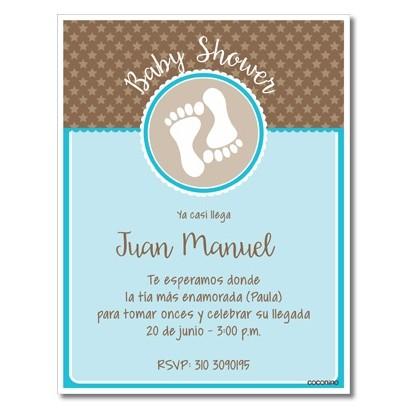 Simple Ideas Invitaciones Para Baby Shower Cozy De Cowboy
