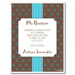 b0005  - Invitaciones - Bautizo