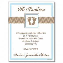 b0006 - Invitaciones - Bautizo