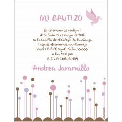 - Invitaciones - Bautizo