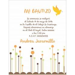 b0007 - Invitaciones - Bautizo