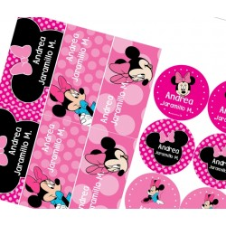 KE0118 - Kit Escolar - Minnie