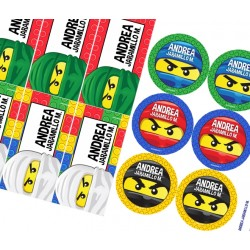 KE0120 - Kit Escolar - Lego Ninja Go