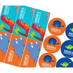 KE0121 - Kit Escolar - Dinosaurios