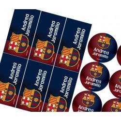 KE0122 - Kit Escolar - Futbol Barcelona