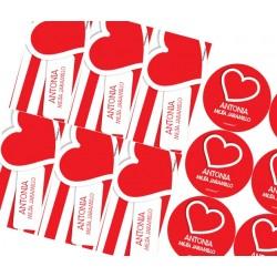 KE0125 - Kit Escolar - Corazón