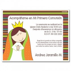 b0043 - Invitations - Baptism - First Comunion