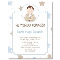 b0071L - Invitations - First communion