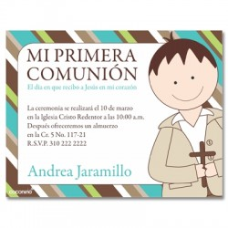 b0053 - Invitations - First communion