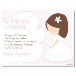b0101 - Invitations - First communion