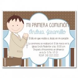 b0105 - Invitations - First communion