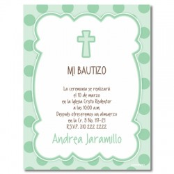 b0055 b  - Invitations - Baptism
