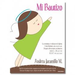 b0046 B - Invitaciones - Bautizo
