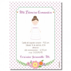 b0074 - Invitations - First communion
