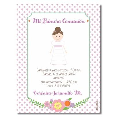 b0075 - Invitaciones - Primera comunión