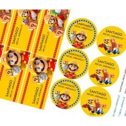 KE0159 - Kit Escolar - Mario bros
