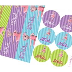 KE0160 - Kit Escolar - Angelina Ballerina