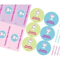 KE0171 - Kit Escolar - unicornio