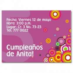 c0024 - Birthday invitations