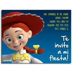 c0049  - Invitaciones de cumpleaños - Toy story