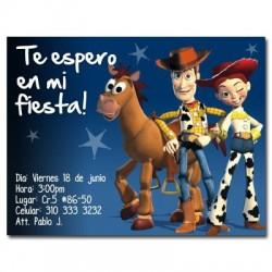 c0051 - Invitaciones de cumpleaños - Toy story.